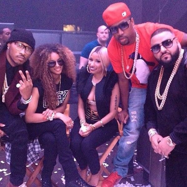 Nicki Minaj DJ Khaled Future Ciara Scaff Beezy