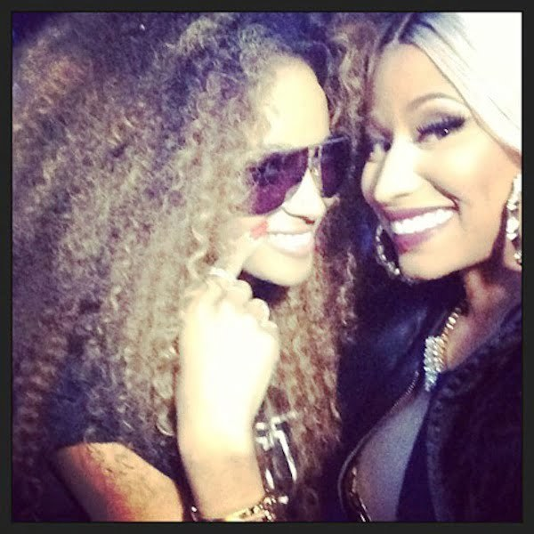 Nicki Minaj and Ciara