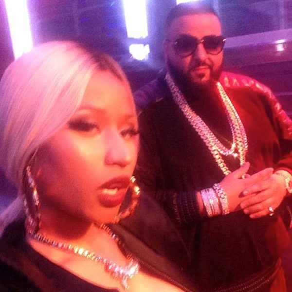 Nicki Minaj and DJ Khaled 08112013