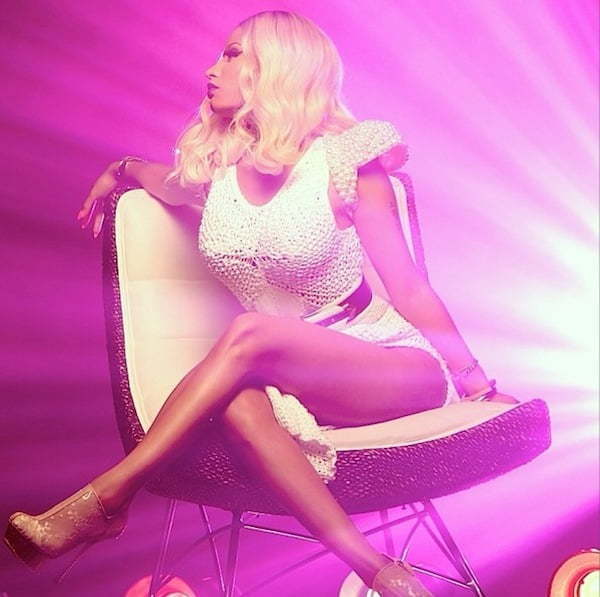 Nicki Minaj blonde 2014 photo