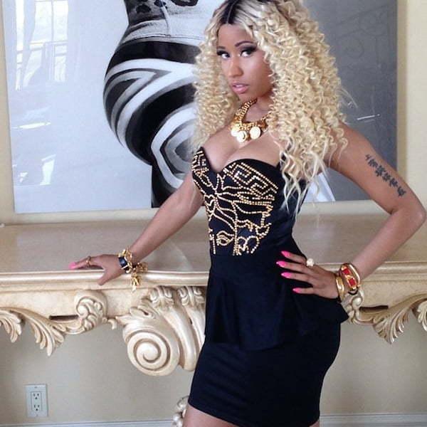 Nicki Minaj video shoot