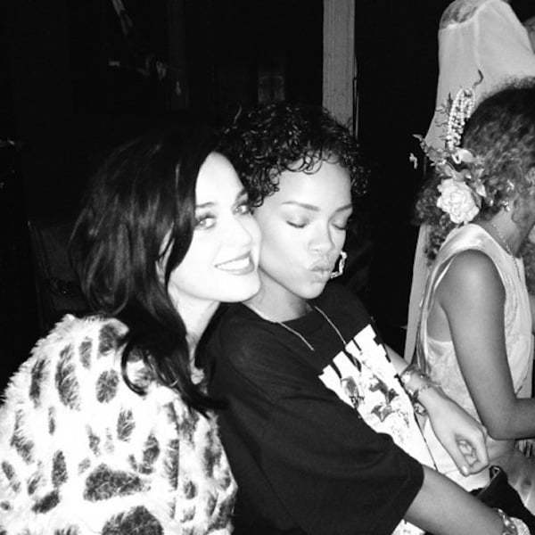 Rihanna Katy Perry reunited