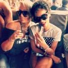 Rihanna and Debby Coda 1