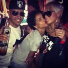 Rihanna and Debby Coda