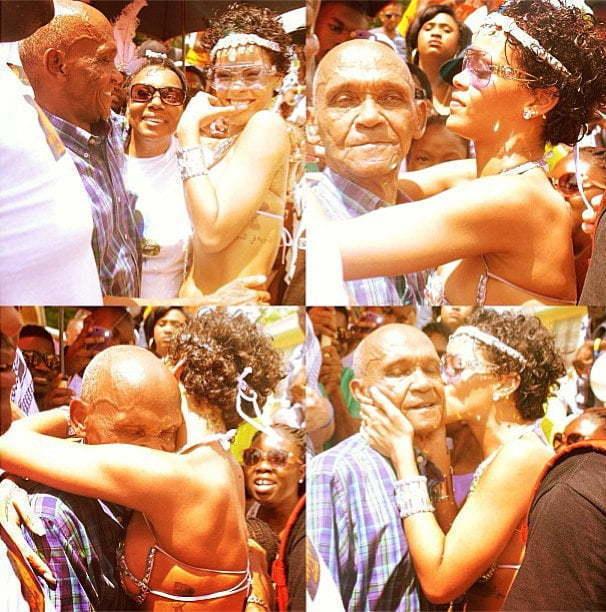 Rihanna grandfather carnival