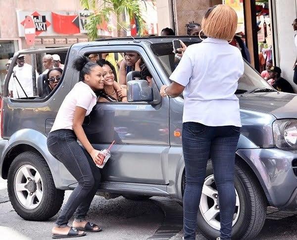 Rihanna in barbados 2013