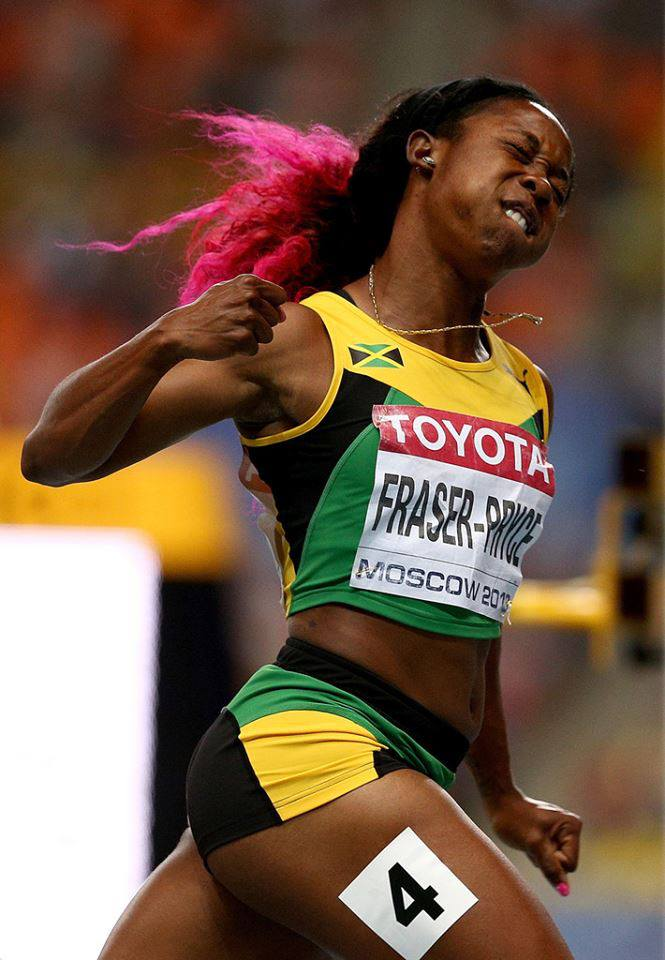 Shelly-Ann Fraser-Pryce 6