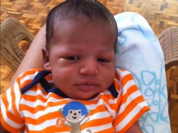 Tami Chynn and Wayne Marshall baby boy