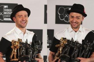 Justin Timberlake, Macklemore & Ryan Lewis Big Winners At 2013 MTV VMAs