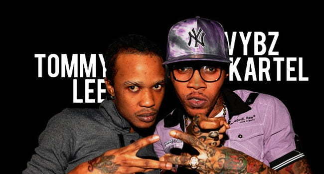 Tommy Lee and Vybz Kartel