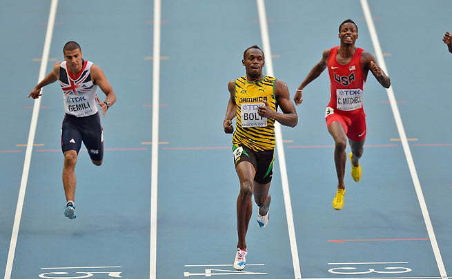 Usain Bolt Win 200m At Moscow World Championship [VIDEO]