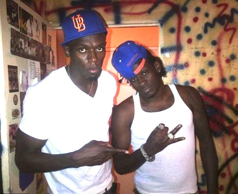 Usain Bolt and Aidonia