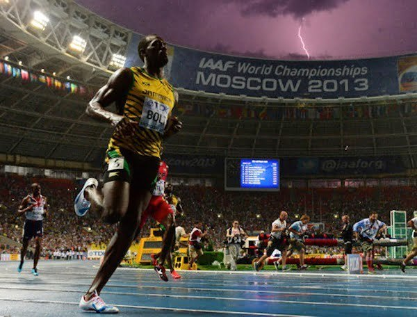 Usain lightening Bolt