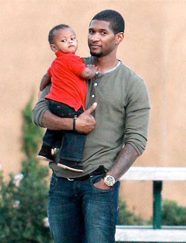 Usher son Usher Raymond V
