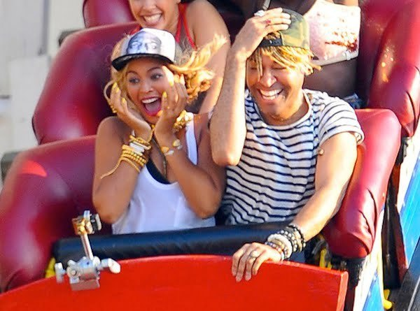 Beyonce at Cony Island
