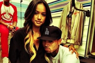 Chris Brown Steps Out With Karrueche For First Time Since Rihanna Oprah Interview [Photo]