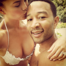 John Legend Chrissy Teigen honeymoon