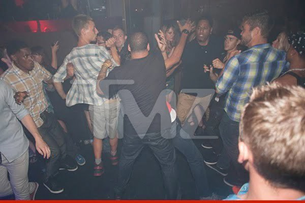 Justin Bieber attack nightclub