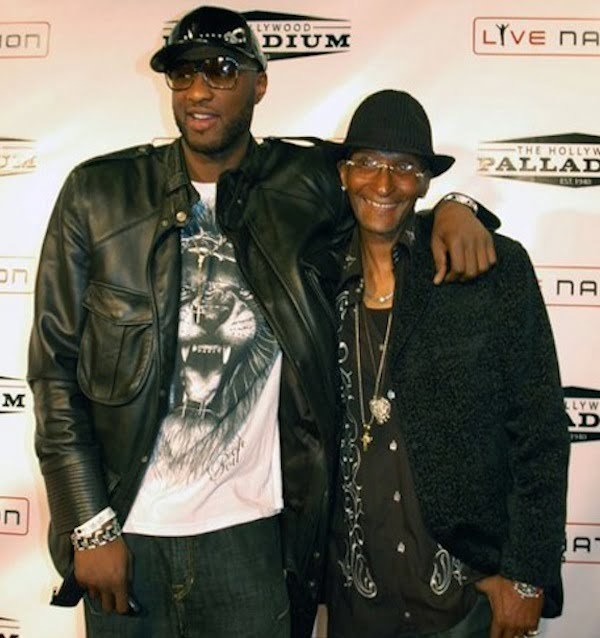 Lamar Odom and dad Joe Odom