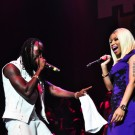 Mavado and Nicki Minaj reggae on tip