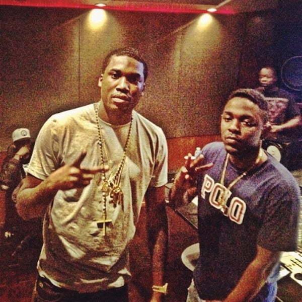 Meek Mill and Kendrick Lamar