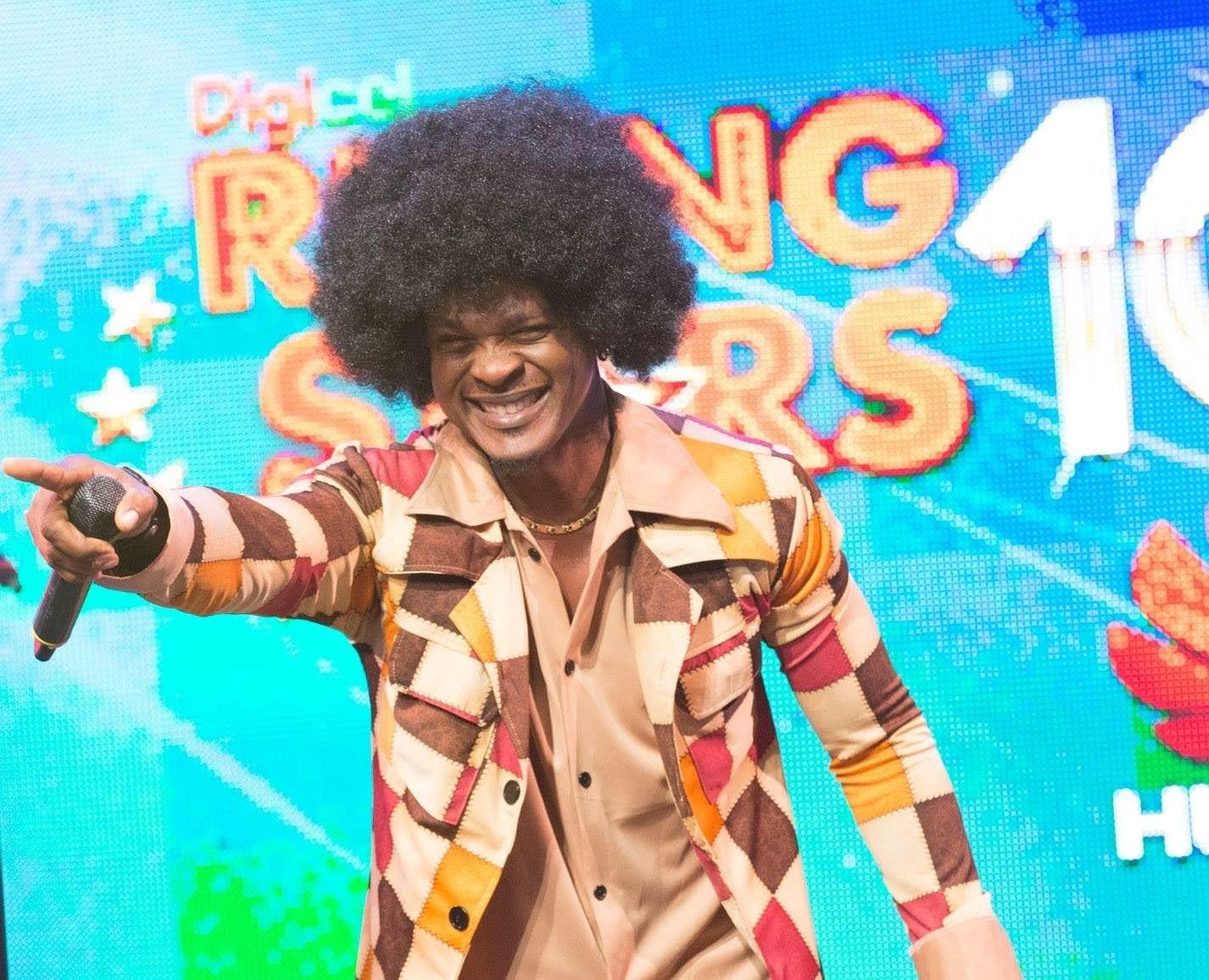 Mr. Vegas afro