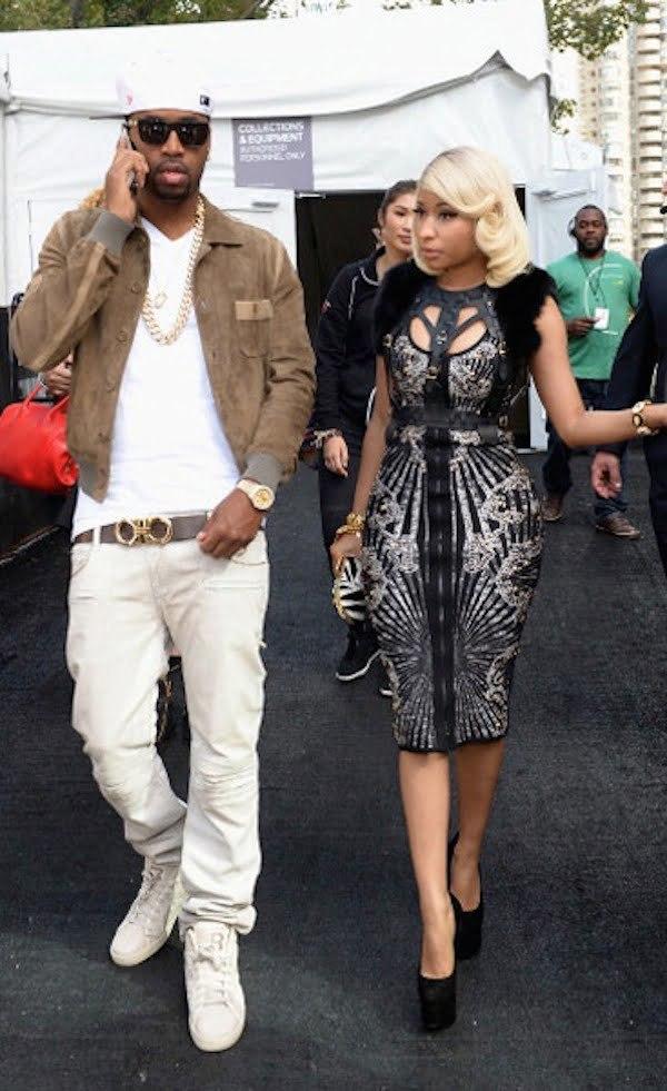 Nicki Minaj NYFW 2013 1