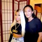 Nicki Minaj and Alexander Wang