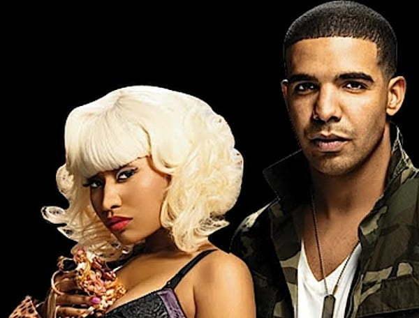 Nicki Minaj and Drake photo