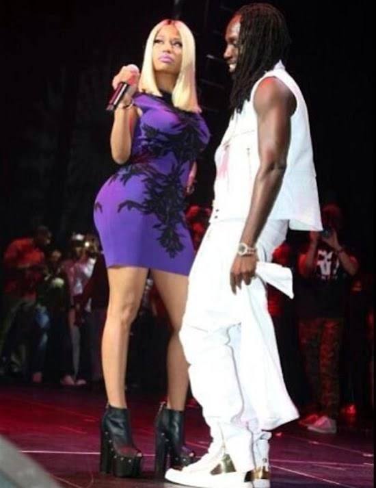 Nicki Minaj and Mavado live