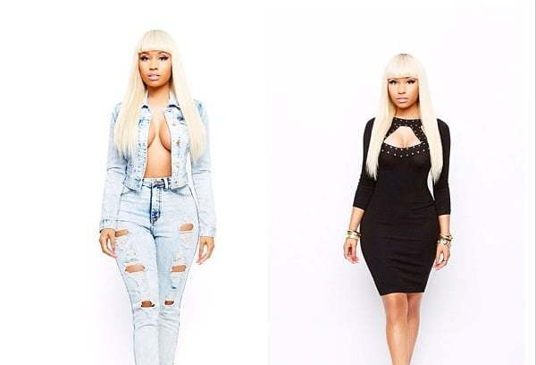 Nicki Minaj Unveils Her Sexy K-Mart Fall Collection [PHOTO]