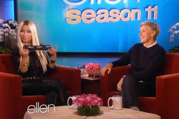Nicki on Ellen show