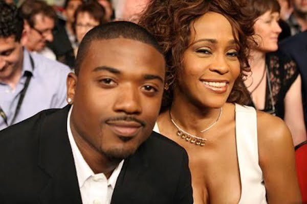 Ray J and Whitney Houston