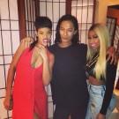 Rihanna and Nicki