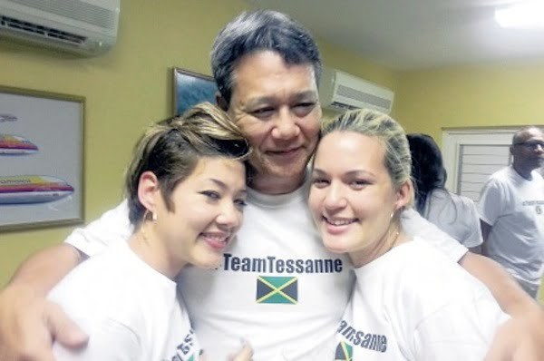 Tessanne Tami and dad Richard