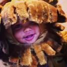 Amber and Wiz Khalifa son halloween