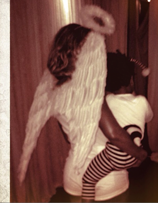 Beyonce and Blue Ivy Halloween