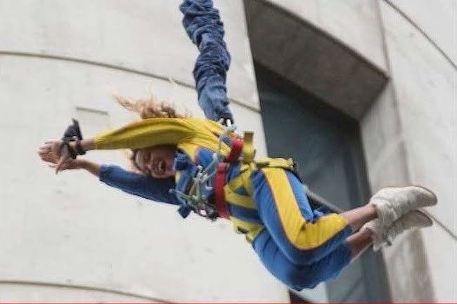 Beyone jump from sky tower