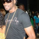 Bounty Killer gold chain