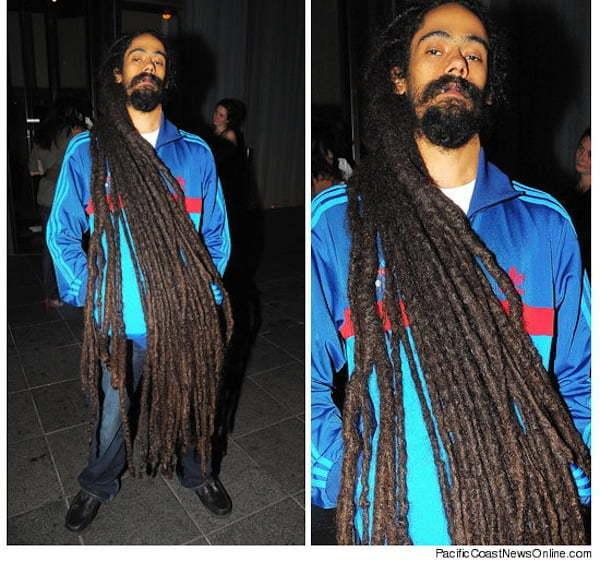 Damian Marley longest dreads