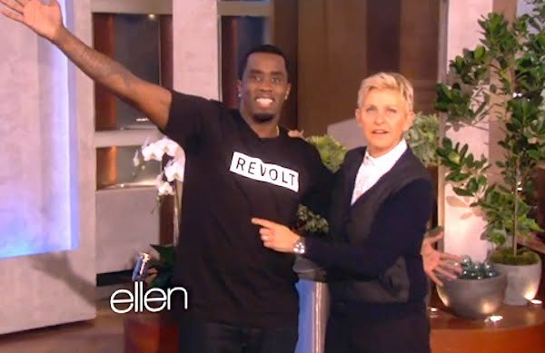 Diddy and Ellen
