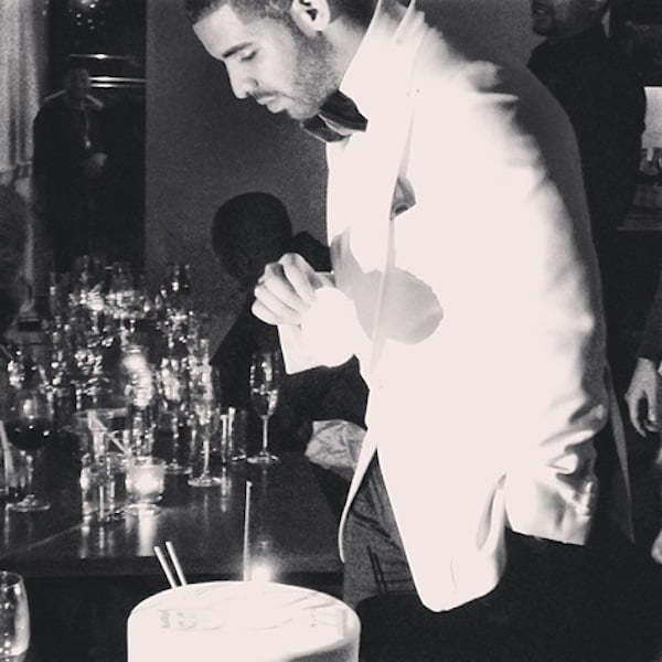 Drake birthday bash