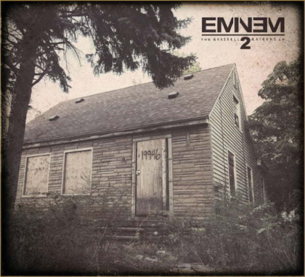 Eminem MMLP2 artwork