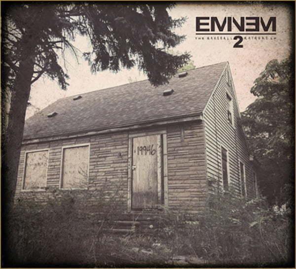 Eminem MMLP2 artwork