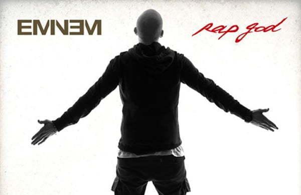Eminem Rap God artwork