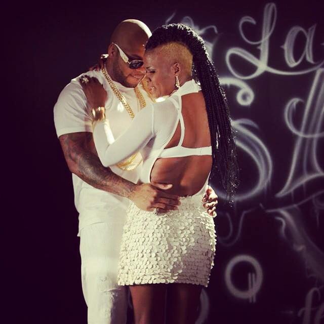 Flo Rida and Lady Saw