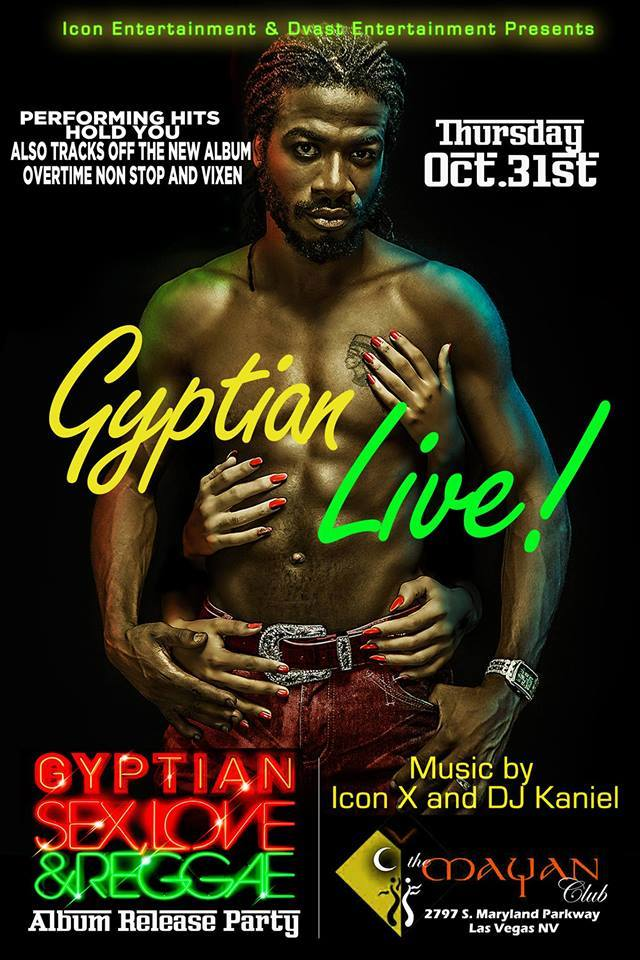 EVENTS: Gyptian Live On October 31st