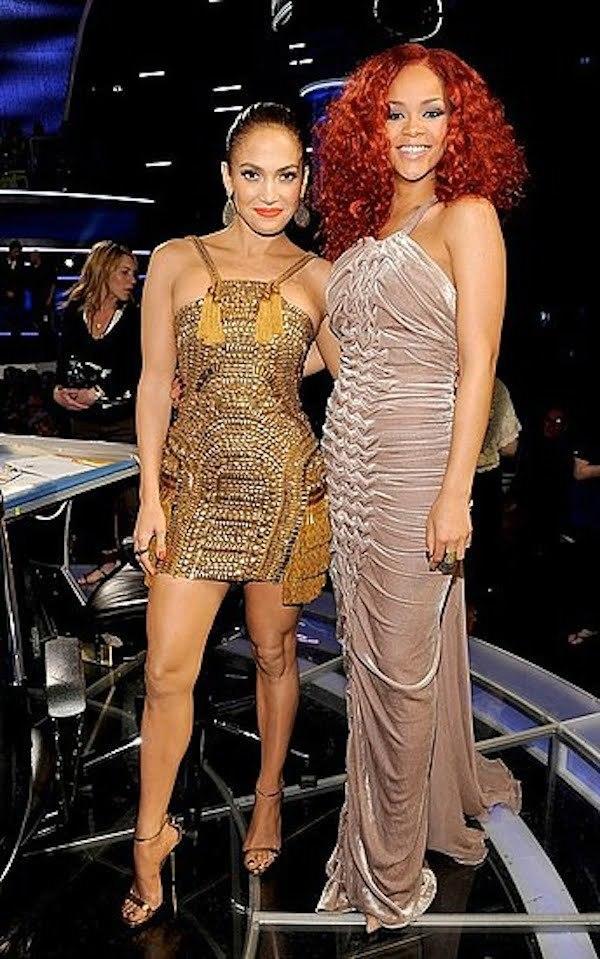 JLO and Rihanna
