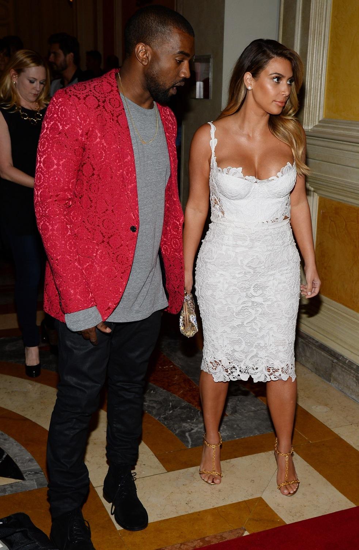 Kim Kardashian and Kanye