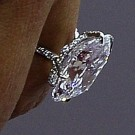 Kim Kardashian diamond ring enlarge